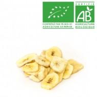 Banane chips séchées bio